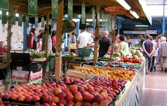 Market days in South West France - holidays in Lot-et-Garonne