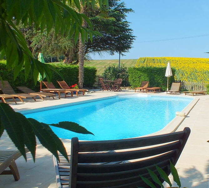 French Gites with heated swimming pool - Lot-et-Garonne